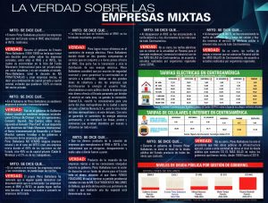 Yo NO privaticé… Hice Empresas Mixtas