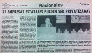 VIDEO: Privatizaciones en Panamá antes y después de 1994
