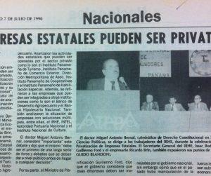 VIDEO: Privatizaciones en Panamá antes y después de 1994
