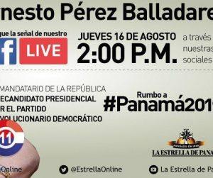 Facebook Live con La Estrella de Panamá: Hoy a las 2:00 p.m.