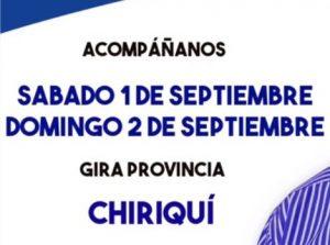 VÍDEO: La Ruta del Progreso/Chiriquí 1 y 2 de septiembre