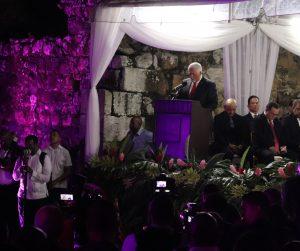"""Discurso de Pérez Balladares al ser declarado""""Hijo Meritorio de la Ciudad"""""""