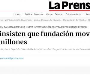 EJECUCIÓN DE SECUESTRO CONTRA LA CORPORACIÓN LA PRENSA NO COMPROMETE EL LIBRE EJERCICIO DEL PERIODISMO EN PANAMÁ