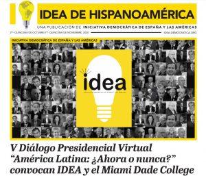 """Pérez Balladares en el V Diálogo Presidencial """"América Latina: ¿Ahora o nunca?"""""""